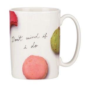 Kate spade   macaron dont mind if I do mug